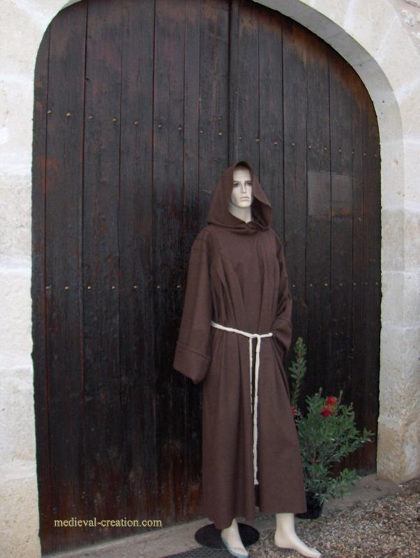 Monk Wool  Dress  XXL Moine Soldat