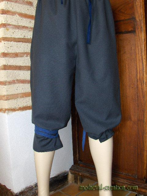 Gallic Nordman Wool Pants Braie longue pure Laine