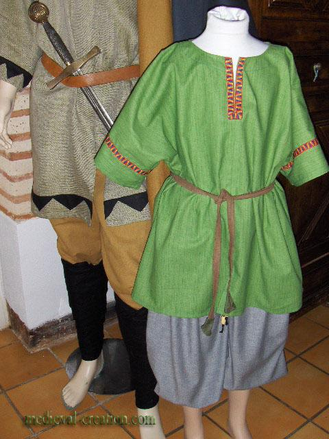 Child Costume Enfant  Viking  Varangian