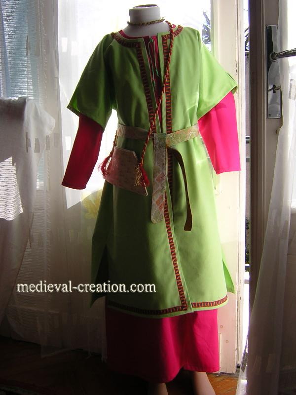 Costume Enfant Varègue ou Médiéval Mixte