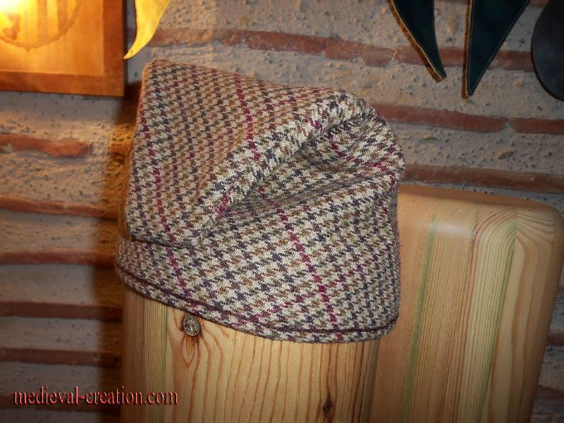 Bonnet scandinave Laine Galon à cartes