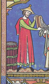 Mantel Wool  thirteenth  century  split sleeves