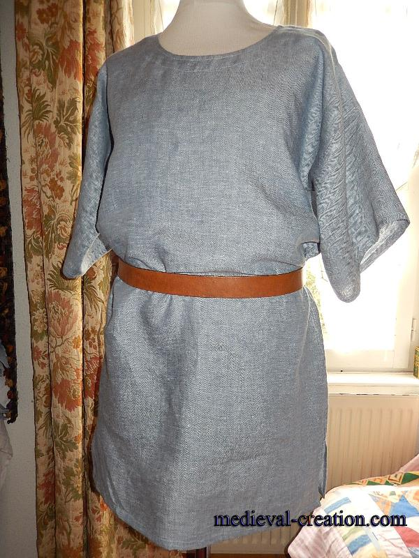 Linen Tunic XXL Saxon Chainse Tunique LIN