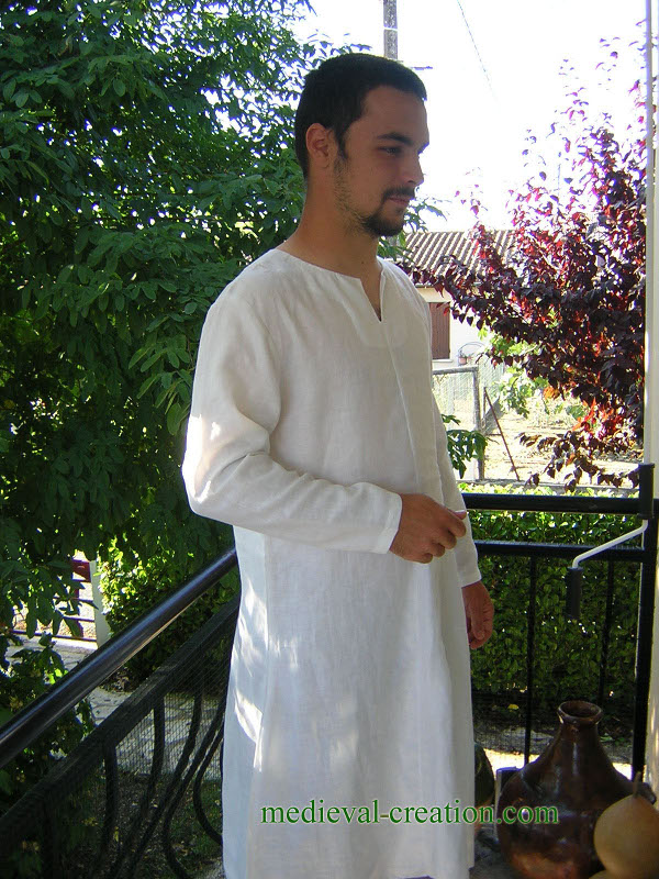 Tunique Chainse Chemise Lin XII/XIIIème